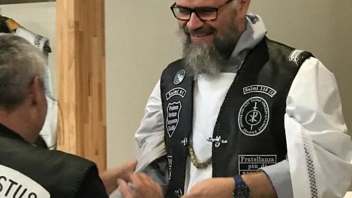 Br. Alberto: Ehren Jesus Biker